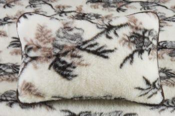 poduszka z runa owczego